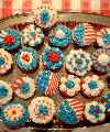July 4th Cup Cakes