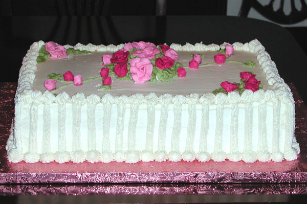 Donna's Birthday Cake